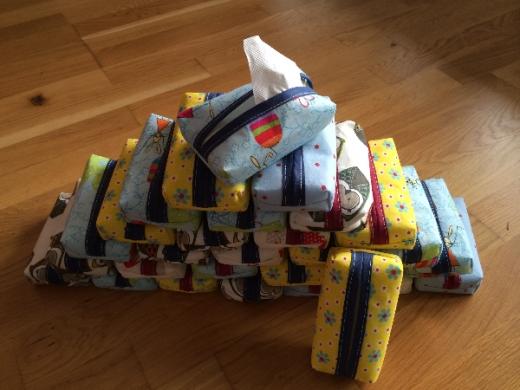 Tatüs Taschentuchhüllen
