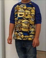 Minions Shirt vorne