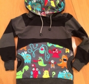 "Kapuzenpulli ""Rainbow Monsters"""
