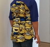 Minions Shirt hinten