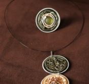 Nespresso Schmuck - Anhänger und Ring